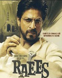 Raees Hindi Movie Review and Rating